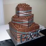 3 tier malteser cake