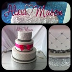 Alicia and Mason wedding cake