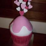 Big Pink Cupcake