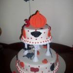 Boo's Halloweens cake