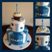 Braxtons 1st Birthday cake