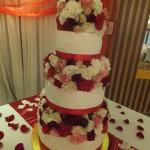 Celestine's Wedding cake 14.1.12