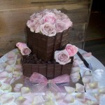Choc & Antique roses