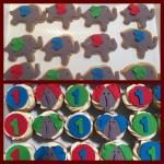 Cute 1st birthday elephant cupcakes
