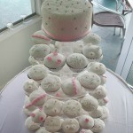 Elizabeth's fondant covered cupcakes