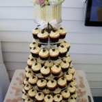 Emma's wedding cupcakes at the Lighthouse restaurant