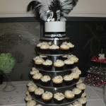 Feather 21st cupcake