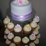 Fragipani Cupcakes