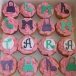 Handbag & shoe cupcakes