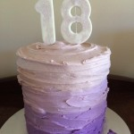 Hayley's 18th cake