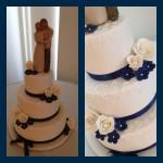 Linda Hey's wedding cake