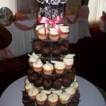 Losa's cupcake tower