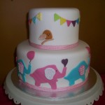 Lou's Baby shower cake 1