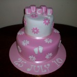 Lucie's Christening cake