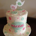 Maggies Christening cake