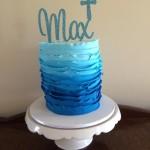 Max's Christening cake