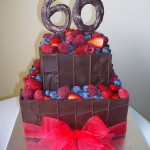 Mixed berry 60th for Carol & Jim