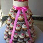 Mocha & Pink Cupcakes