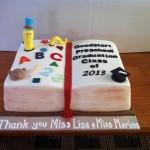 Molly's graduation cake