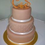Orange bling letters