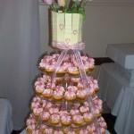 Pink Tulip mini Cupcakes