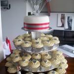 Silver Heart Cupcakes