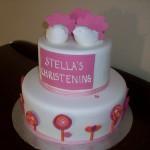 Stella's Christening cake