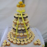 Sunshine yellow cupcakes 1