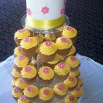 Yellow & Pink Cupcakes