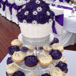 big cupcake topper with cupcak