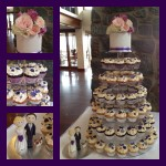 cameron and emmas cupcakes with cake topper