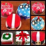 christmas cakes 2014