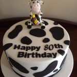 cow themed cake - Copy
