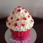 red and white cupcake - Copy