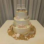 tn_Beach themed cake with chairs