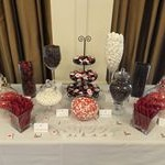 tn_Black, red and white lolly buffet