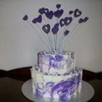 tn_Carly & Justin's engagement cake