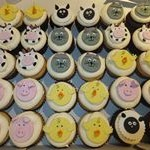 tn_Farmyard animal cupcakes