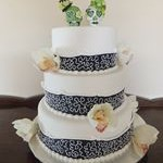tn_Green skull cake topper 1