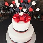 tn_White, red and black engagement cake