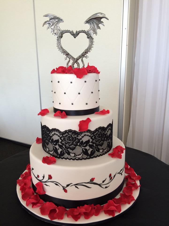 Gothic Wedding Cakes Pictures